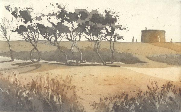 Felixstowe etching